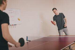 employee engagement ping pong